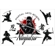 Ninja Warrior Vector Illustration - GraphicRiver Item for Sale