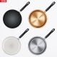 Set of Fry Pan - GraphicRiver Item for Sale