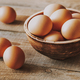 Bowl of raw chicken eggs - PhotoDune Item for Sale