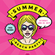 Summer 80s Party Flyer Template - GraphicRiver Item for Sale