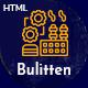 Buliten- Factory & Industry HTML Template