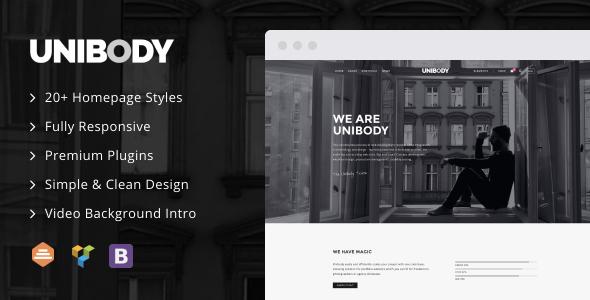 UniBody – Elegant Business WordPress Theme Free Download
