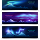 Northern Lights Realistic Banners - GraphicRiver Item for Sale