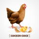 Hatching Chick Realistic Poster - GraphicRiver Item for Sale