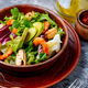 Salad with prawns and mussels - PhotoDune Item for Sale