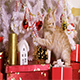 Little Red-Haired Kitten Playing With Christmas Toy - VideoHive Item for Sale