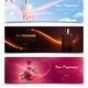 New fragrance Horizontal Banners - GraphicRiver Item for Sale