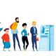 Queue People Icon Set - GraphicRiver Item for Sale