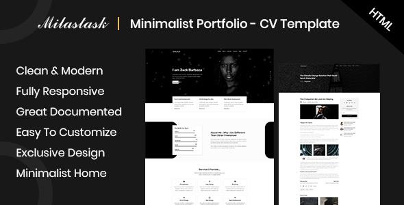Super MilasTask - Responsive Portfolio HTML Template