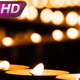 Ornate Line Of Burning Candles - VideoHive Item for Sale