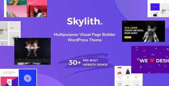 Extraordinary Skylith | Multipurpose Gutenberg WordPress Theme