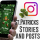 St. Patricks Stories and Posts - VideoHive Item for Sale