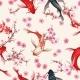 Garden Koi Seamless Pattern - GraphicRiver Item for Sale