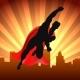 Superhero Over City - GraphicRiver Item for Sale