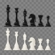 Checkmate Pieces on Transparent Background - GraphicRiver Item for Sale