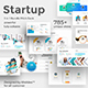 Startup Ideas 3 in 1 Pitch Deck Bundle Powerpoint Template - GraphicRiver Item for Sale