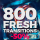 800 Fresh Transitions - VideoHive Item for Sale