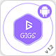 Gigs (Services Marketplace) - Native Android Application | Fiverr & Freelancer Clone