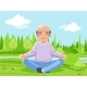 Old Man Grandfather Outdoor Park Nature Fitness - GraphicRiver Item for Sale