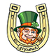 Saint Patrick Cartoon Emblem - GraphicRiver Item for Sale