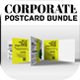 Corporate PostCard Bundle - GraphicRiver Item for Sale