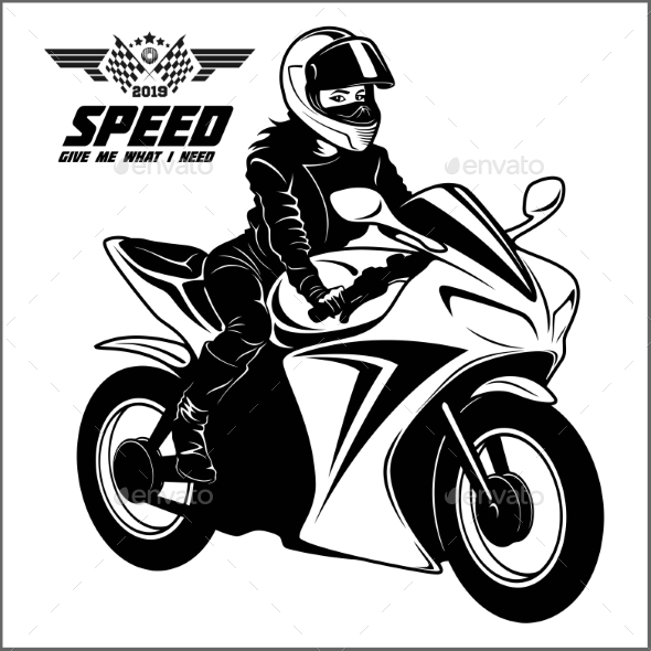 Motorbike Graphics Designs Templates From Graphicriver
