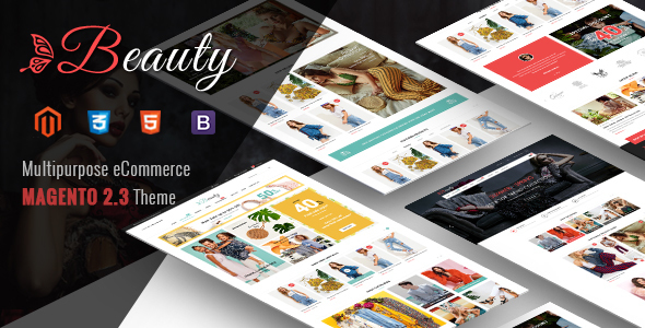 Beauty - Multipurpose Responsive Magento 2 Theme