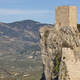 Ancient castle tower and olive fields in Jaen. Spain - PhotoDune Item for Sale