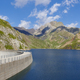 Llauset dam in Aragon. Hydroelectric energy power. Trekking route. Spain - PhotoDune Item for Sale