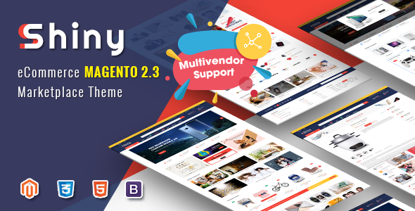 Shiny - Responsive Magento 2 Marketplace Theme