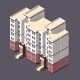 Low Poly Town Apartment Building - GraphicRiver Item for Sale