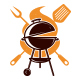 The Grill Party Logo - GraphicRiver Item for Sale