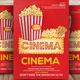 Cinema Club Flyers Template - GraphicRiver Item for Sale