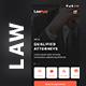 LAW App Multiple use App UI kit   LawApp - GraphicRiver Item for Sale