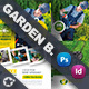 Garden Landspace Flyer Bundle Templates - GraphicRiver Item for Sale