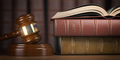 Justice, law and legal concept. Judge gavel and law books. - PhotoDune Item for Sale