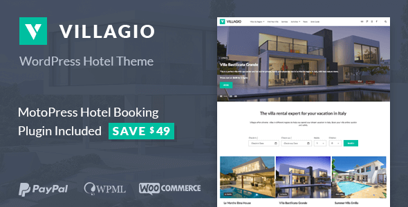 Villagio - Property Rental WordPress Theme - Real Estate WordPress