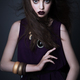 Beauty Fashion Model Girl with Dark Make up - PhotoDune Item for Sale
