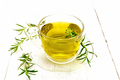 Tea of rosemary in cup on light board - PhotoDune Item for Sale