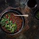 Black lentils and vegetables stew - PhotoDune Item for Sale