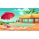 Summer Leisure on Tropical Resort Cartoon Vector - GraphicRiver Item for Sale