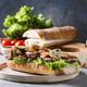 Beef baguette sandwich - PhotoDune Item for Sale