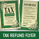 Tax Refund Flyer - GraphicRiver Item for Sale