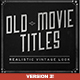 Old Film Titles - VideoHive Item for Sale