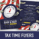 Tax Time Flyer - GraphicRiver Item for Sale