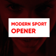 Modern Sport Opener - VideoHive Item for Sale