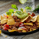 corn chips nachos with fried minced meat - PhotoDune Item for Sale