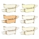 Retro Beige Blank Heraldic Ribbon - GraphicRiver Item for Sale