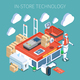 Shop Technology Isometric Composition - GraphicRiver Item for Sale