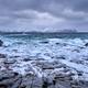 Norwegian Sea waves on rocky coast of Lofoten islands, Norway - PhotoDune Item for Sale